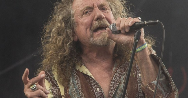 Kitchen was closed, but Robert Plant got a whole lotta love