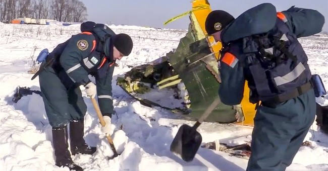 Russia: Plane crash caused by pilots' error on speed data