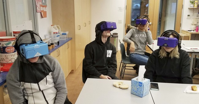 Virtual-reality field trips give students advanced adventure