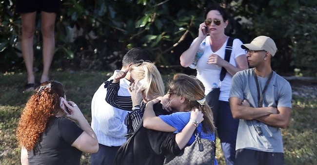 Former student opens fire at Florida high school, killing 17