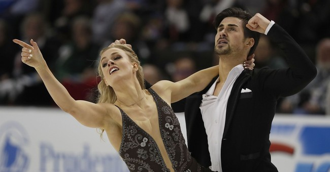 American ice dancer still relies on mom to make her costumes
