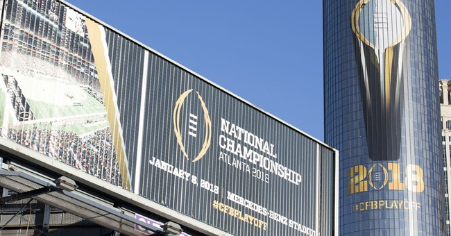 Vegas bookies cheering national title game wagers