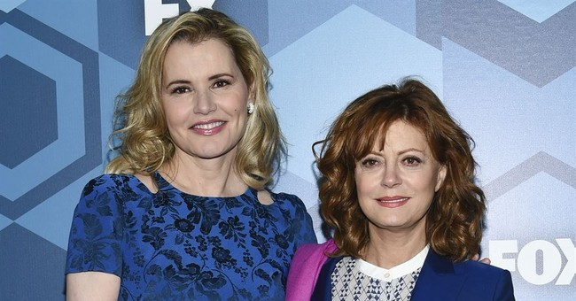 'Thelma & Louise' return! Davis, Sarandon reunite at Globes