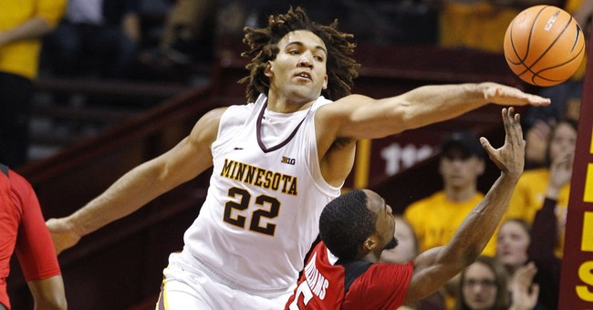 The Latest: Gophers' Lynch suspended in alleged assault
