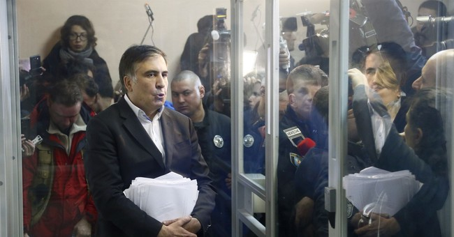 Georgia sentences Saakashvili in absentia to 3 years