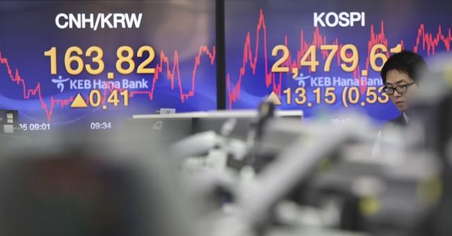 Dow breakthrough buoys markets despite mixed US jobs report