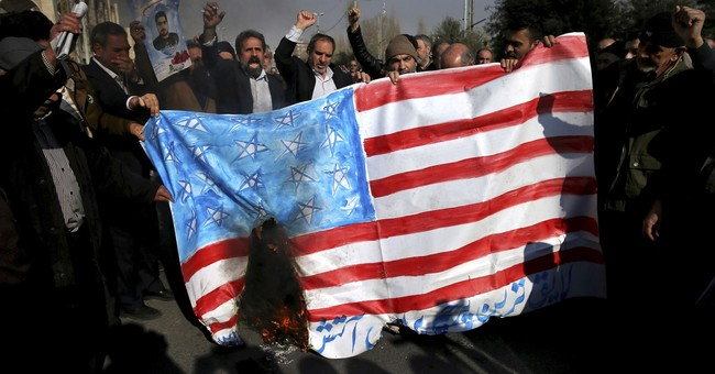 Iran mocks Trump 'blunder' as government supporters rally