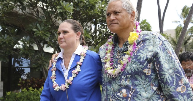 Man admits lying for ex-chief's wife under investigation