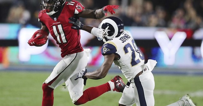 Falcons show playoff poise in 26-13 win over upstart LA Rams