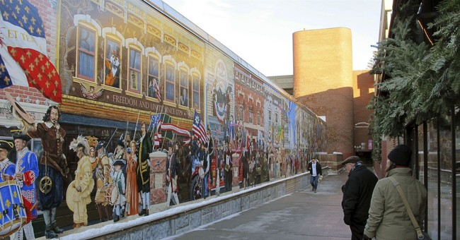 Vermont city considers making mural more inclusive to races