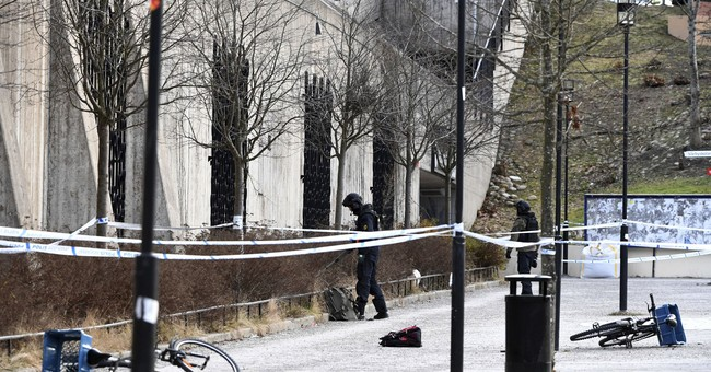 The Latest: Man dies in explosion outside Stockholm subway