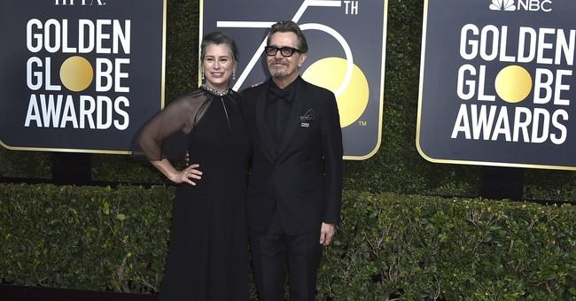 Oldman wins Globe for film drama actor in 'Darkest Hour'