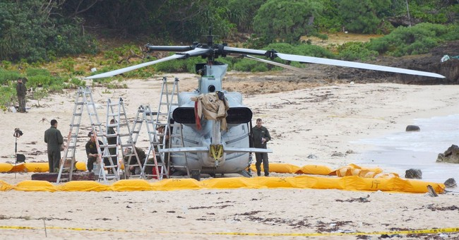 Rotor issue caused US helicopter emergency landing in Japan
