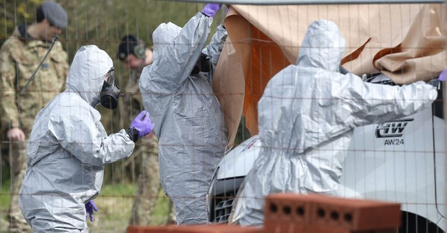 The Latest: White House backs Britain in spy poisoning case