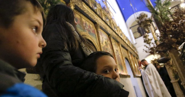 AP PHOTOS: Bosnian Serbs observe Christmas as ancient ritual