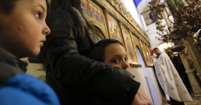 AP PHOTOS: Bosnian Serbs observe Christmas as ancient ritual
