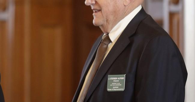Kansas lawmaker quits posts after remarks about blacks