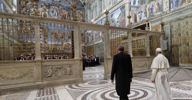 Pope urges efforts to rebuild trust in North Korea, Syria