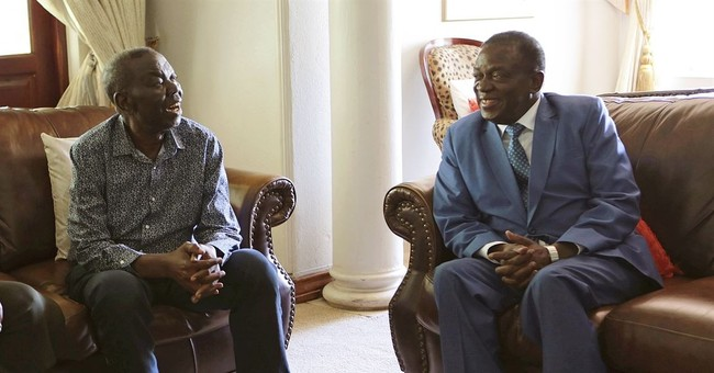 Zimbabwe's main opposition leader hints at stepping aside