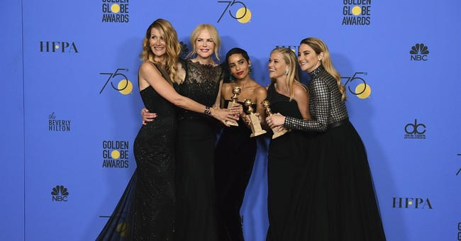 Men? A sideshow at a Golden Globes that celebrated women
