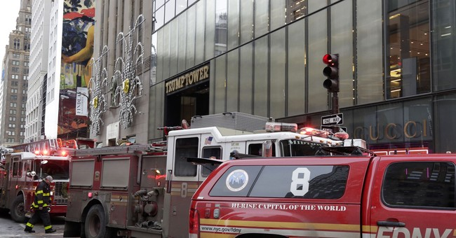 3 injured in NY Trump Tower heating system fire