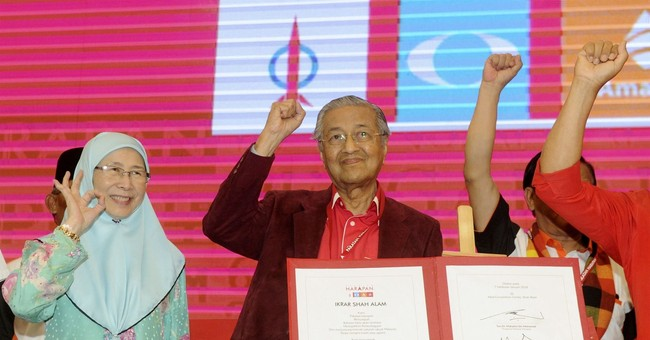 Malaysian opposition names 92-year-old Mahathir as PM choice