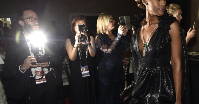 Behind the scenes at the Golden Globes: schmoozing, snacking