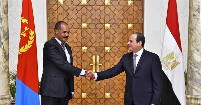 Egypt, Eritrea leaders meet as Nile tensions rise