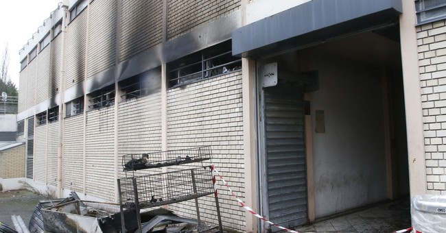 Fire at French kosher market targeted by anti-Jewish vandals