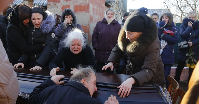 Funeral held for Ukrainian lawyer found stabbed in river
