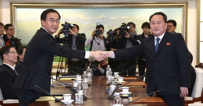 A small uptick in inter-Korean ties follows a tense year