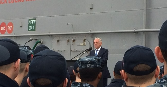 Away from Washington, a more personal Mattis reveals himself