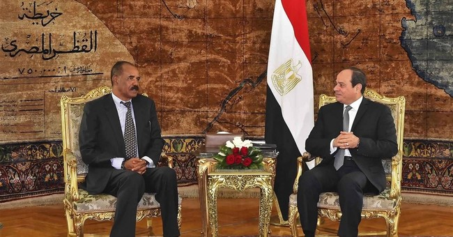 Egypt, Eritrea leaders meet as Nile tensions rise