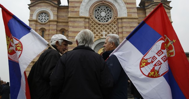 Defiant Bosnian Serbs celebrate banned 'statehood' holiday