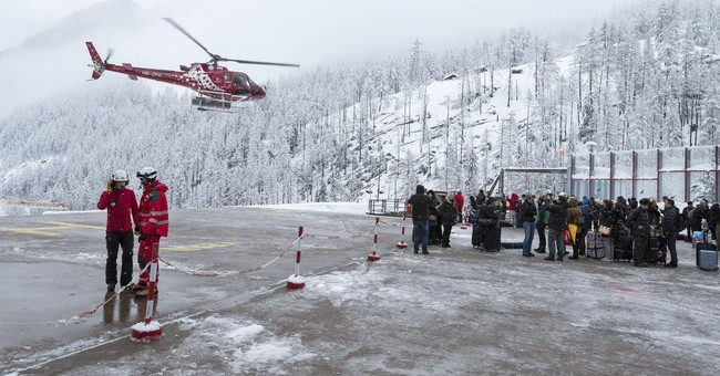 Snow, avalanche risks strand 13,000 tourists in Zermatt