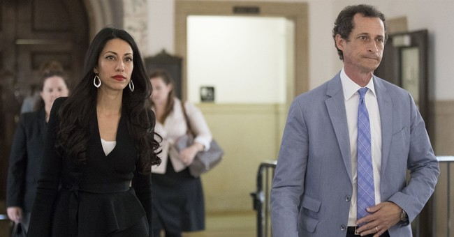 Abedin, Weiner Withdraw Divorce Case, But...