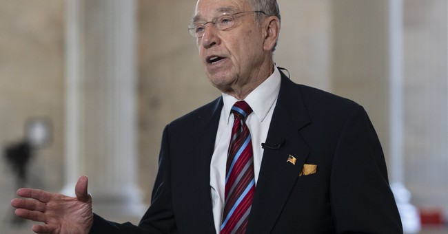 Grassley Pushes Back at McConnell's Effort to Block Mueller Bill