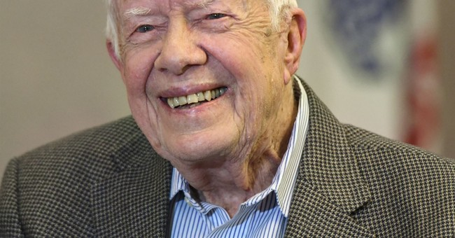 Former President Jimmy Carter Says Trump Could Win Nobel Peace Prize for North Korea