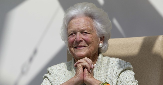 Professor calls Barbara Bush 'amazing racist'; taunts 'I'll never be fired'