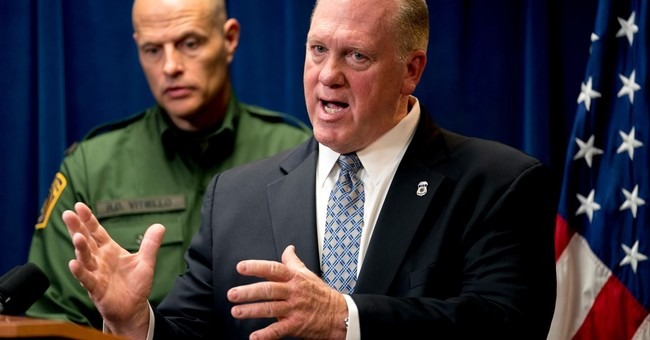 ICE Chief: Where's the Outrage for the 'Angel Families?'