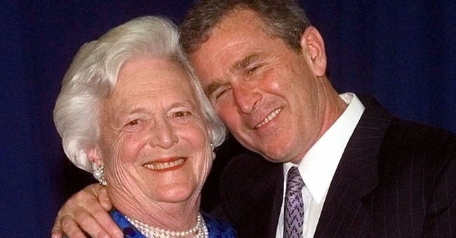 George W. Bush Gives First Interview Since His Mom's Passing