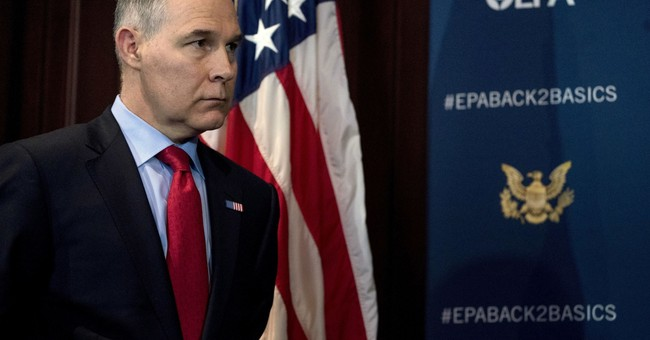 A Handful of Republicans Now Want Pruitt to Resign