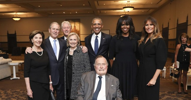 George H.W. Bush Admitted To Hospital With An Infection Hours After Laying Barbara Bush To Rest