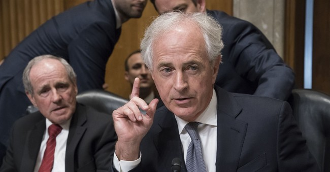 Corker erupts at GOP colleagues too afraid to take on President Trump