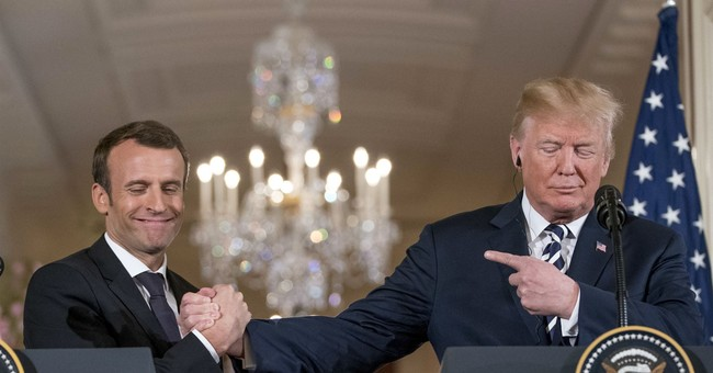 Macron Should Ally with Trump Against Washington