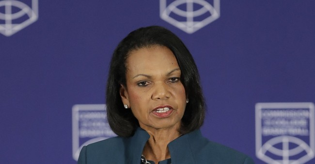 Condoleezza Rice's Response to Reporter Asking About Race Relations Under Trump Was Epic
