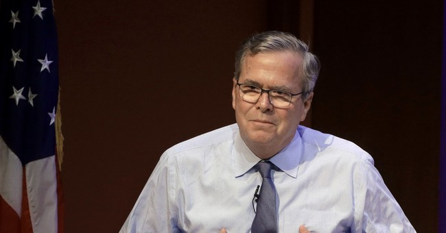Jeb Bush Says It's a Time to 'Celebrate' His Father and the Trump Family Has Been 'Gracious'
