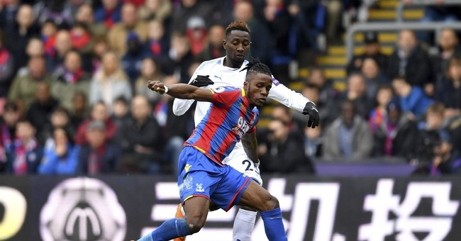 Insanity Wrap Just Became a Fan of Wilfried Zaha and Almost of Soccer