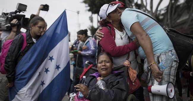 Media Paint it As Cruel that Immigrants from Caravan Are Being Detained at Border