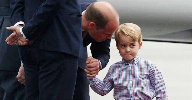 Social Media Users Were Not Happy to See Prince George Playing With His New Toy